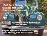 Jeff Lane\'s lovingly restored 1940 Ford pickup