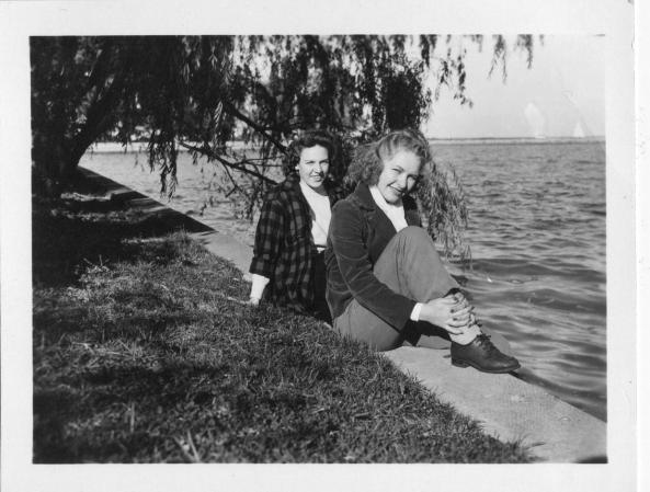 Jimme and Mom c.1942