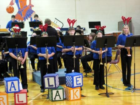 Central Lake Middle School Band - Brass Section and Friends