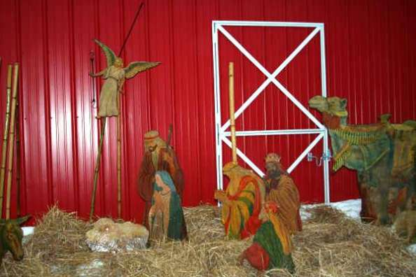 Wise men arrive at the manger in Antrim County - and discover that wise women are already there