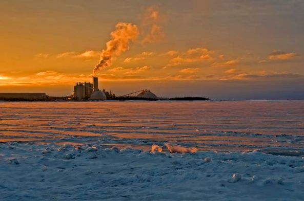 St. Mary's Cement at dusk - Babs Young