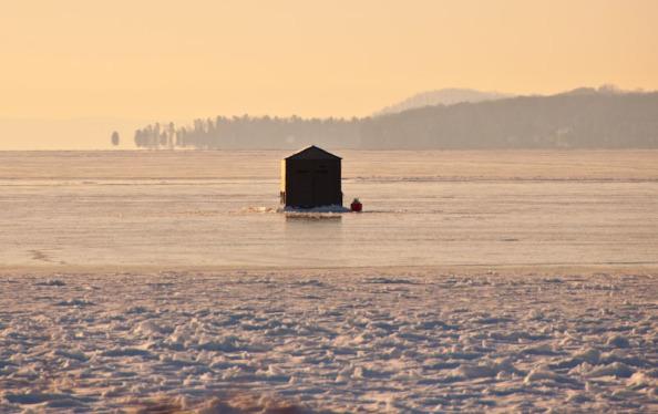 Fishing shanty on Torch Lake - Bruce Laidlaw