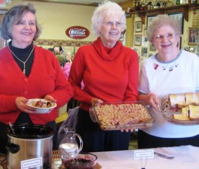 Winners of the 2009 Cherry Breakfast Recipe Contest