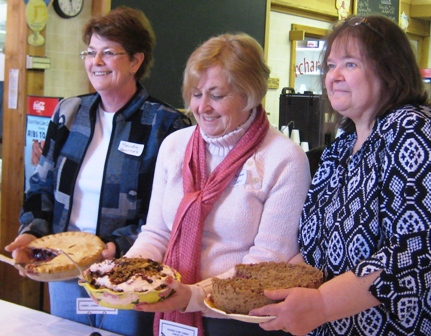 Winners of the 2009 Cherry Pie Recipe Contest