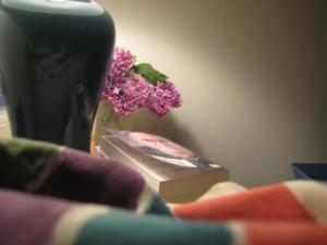 Lilacs bedside