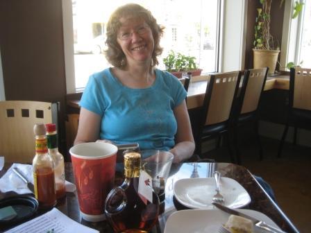 Kathy at MOKA