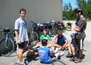 C - YMCA Camp Echo cyclists