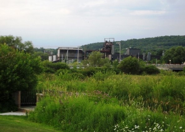 East Jordan Iron Works viewed from Sportsmans Park