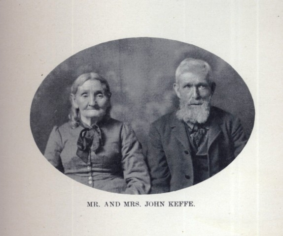 John Keffe and his wife