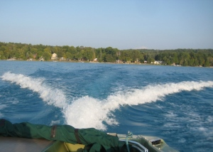 Torch Lake cruise