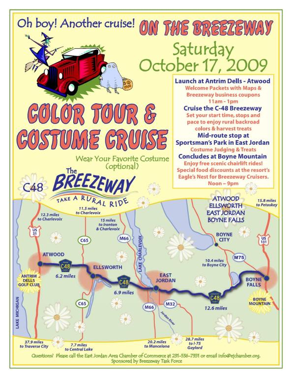 Breezeway Fall Cruise flyer