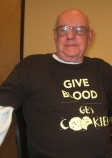 Ed Knoechel says Give Blood--Get Cookies