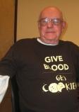 Ed Knoechel says Give Blood--Get Cookies