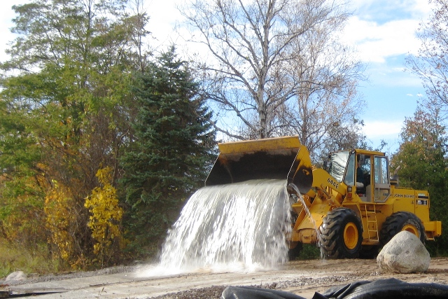 Torch Lake boat launch update: DNR Construction Crew at ...