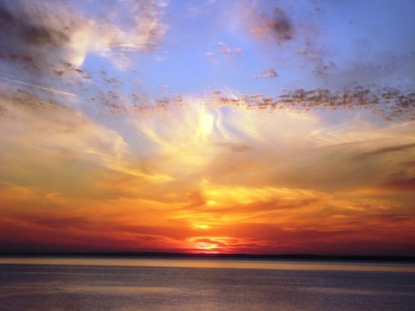 Auto corrected sunset indeed