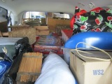 Van full of treasures