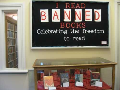 I read banned books - Celebrating the freedom to read