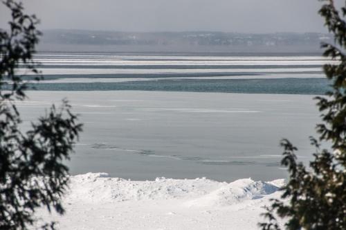 Bay ice