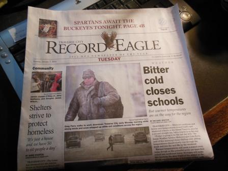 Record-Eagle Jan 7 2014