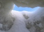 Ice cave chimney - Bruce Laidlaw