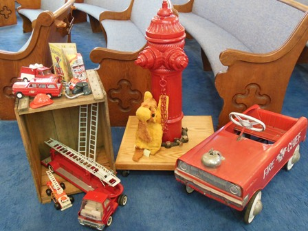 Firefighter toys - ERAHS holiday show