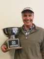 Don Hoezee with First Annual Chili Cook-off Trophy