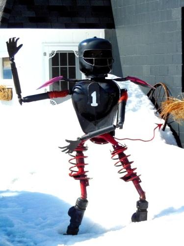 Red Devils mascot