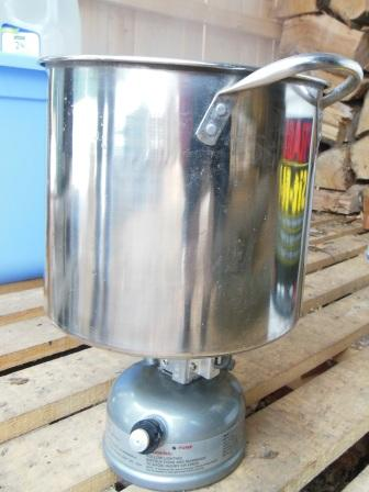 Gas camping stove