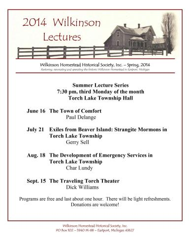 2014 Wilkinson Lecture Series