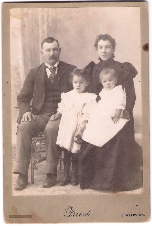 Shapton family portrait from Bill Bennett