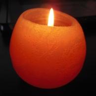 Color for Mud Season - pear candle